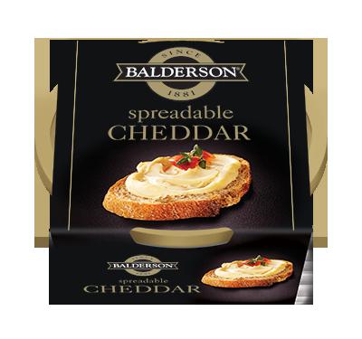 CHEDDAR BALDERSON À TARTINER