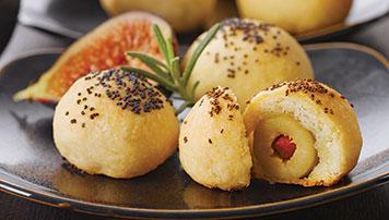 Bouchées au fromage Balderson et aux Olives