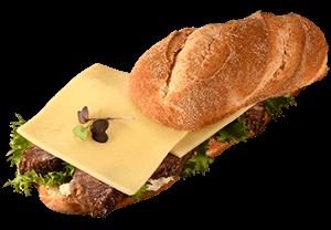 Balderson 1-year aged cheddar sandwich