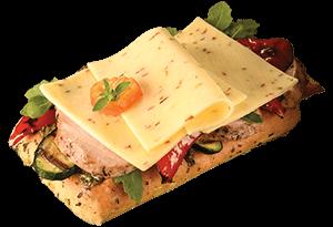 Balderson Monterey Jack sandwich