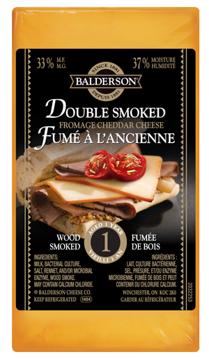 Balderson Double Smoked Cheddar