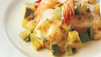 Mexican Shrimp Raclette